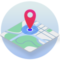 Outdoor mapping system icon
