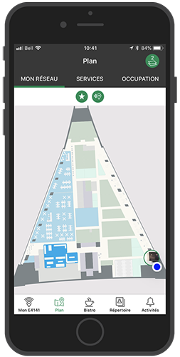 Desjardins Employee App - Location Sharing