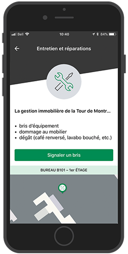 Desjardins Employee App - Maintenance Request