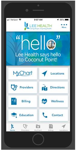 Lee Health Hospital App