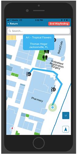 Lee Health Hospital App - Indoor Navigation
