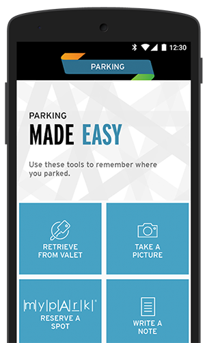 Mall of America Mobile App - Parking Made Easy