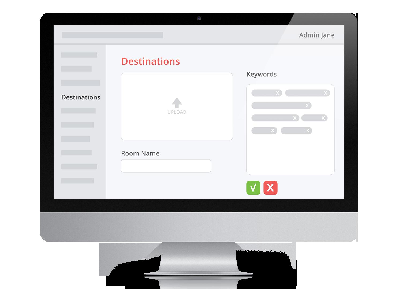 Web Destinations Desktop