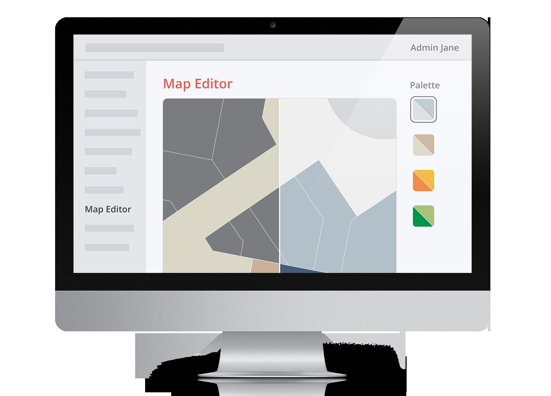Web Map Editor Desktop