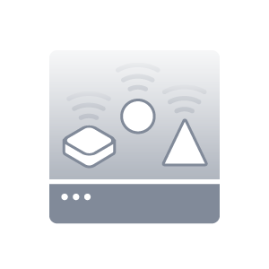 Objects representing assets icon