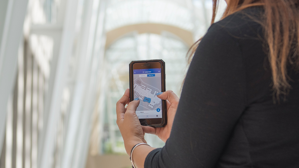Wayfinding and Blue Dot: What's the difference?